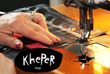 Kheperbags Factory / One and only one. Your kheper bag is yours and only yours. http://kheperbags.it/en/1003/Philosophy.htm