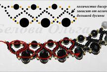 vzory - návody / vzory na korálkové šperky