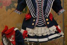 Panenky-námořnické oblečení