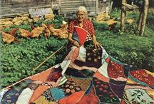 Vintage Quilts  / by Gena Philibert-Ortega