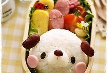 Japan food, obento, sweet's
