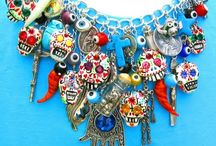 Day of Dead inspired jewellery