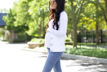 Pregnancy Style / Pregnancy style inspiration + mama to be fashion ideas