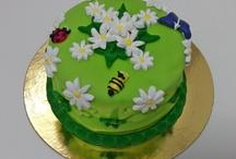 Tartas ;-) cakes ;-) Tortas. / Mi 1era tarta, poco a poco subiré las que vaya animándome a realizar ;-)