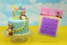 Decoração de bolos finos