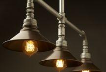 Lighting SteePunk and Glass Bottle chandelier