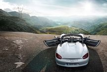 The new Boxster Spyder. Unfiltered. / This roadster is not the typical roadster and not the typical Boxster, you'd expect. The new Boxster Spyder is a radical return to the origins of the roadster. Rev up your adrenalin levels and watch the first pictures in this gallery. ‪#‎5billioncurves‬