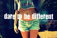 Just being myself(: