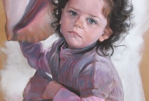 Pastel Portrait paintings