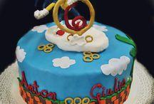 Sonic Cake / Sonic Birthday Cake