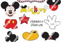 Art & Doodles - Disney - Mickey Mouse & Friends