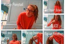 Hair / Pony tail