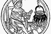 medieval woodcuts