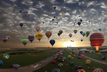 hot air balloons / by Betty Devitt