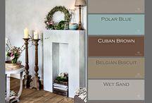 Pure and Original Paint / Paint colors / by Leslie Stocker Colorways