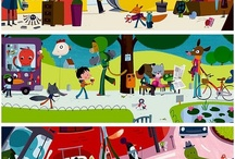 Cutout Animation Design