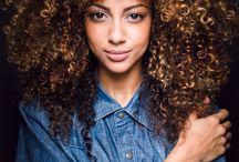 Colour curly hair!