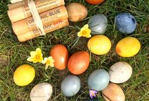 Easter Eggs Natural Color