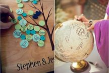 Guestbook ideas / Unique ideas and inspiration for wedding guestbooks