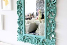 Gallery style >Art, Mirrors, Frames / by Marianne Rodriguez