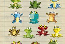 béka- frog
