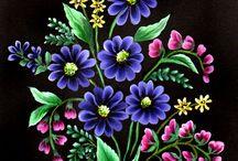 검정바탕꽃