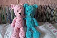 Crochet bear / I would like to show you my crochet bears. I hope you will like them as I do :)