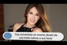 Tras convertirse en mamá ¡Anahí da una triste noticia a sus fans!