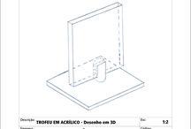 Projetos 3D / displays para pdv