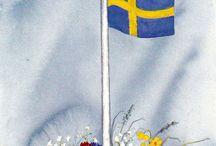 KAYA HANSSON / Kuvataiteilija  syntynyt 1936 Suomessa.  Siirtynyt sotalapsena Ruotsiin 1942.
