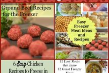 Freezer cooking / Cooking