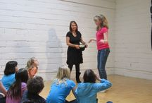 Drama Activities / Simple drama games and activities for all ages in a classroom.