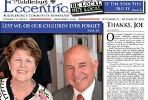 Middleburg Eccentric September 2016 / Middleburg's Community Newspaper ~ Be Local & Bring the community together!