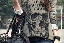 Skull women's fashion
