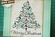 christmas tres cards