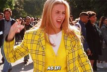 """CLUELESS / """"Christian said he'd call the next day, but in boy time,that meant Thursday"""" - Cher Horowitz"""