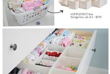 Baby Room Organization  / by Sarea Rivera