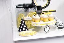Bumble Bee DIY Party Ideas / Don't worry, bee happy!