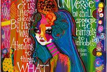 Teesha Moore Art Journals etc