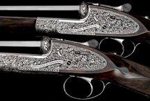 Belles armes / Quelques unes des plus belles armes de chasse