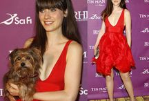 Zooey Deschanel Style / Whimsical, fun, cute , quirky style. I would feel great in any of her outfits. / by Dana Grant
