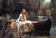 Lady of Shalott / Images of Lady of Shalott to help me write a story