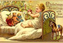 Christmas cards / Kerst kaarten vintage.