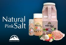 Natural Pink Salt / The Natural pink salt that is more often recognized as the Himalayan salt is discovered from the underground treasures of the Himalaya located in Pakistan. The salt is mined from deep down the Himalayan salt range and it is there for centuries