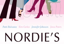 """Nordie's at Noon:  The Personal Stories of Four Women Too Young For Breast Cancer / Nordie's at Noon shares the personal stories of four young women diagnosed with breast cancer at the age of 30 or younger. Patti, Jana, Jennifer and Kim met once a month at Nordstrom's Cafe for lunch. It was their special place to laugh, cry and support each other - and celebrate the journey of life after a cancer diagnosis. Nordie's at Noon encourages women to be proactive with their health and to realize that no one is """"too young"""" for breast cancer."""