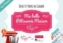 """Jeu Concours """"Ma Belle Pâtisserie Maison"""""""