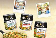 Inspiration Poêlées entre amis d'aucy - Very Good Moment / Réunissez vos proches en toute simplicité autour de trois délicieuses poêlées de légumes d'aucy pour un dîner gourmand et convivial !