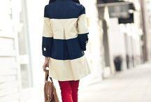 Style: Navy & White or Cream