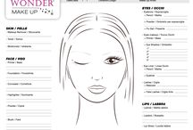 FACE CHARTS by WonderMakeup / Free download of FACE CHARTS by WonderMakeup created for for all shape of woman's face: https://wondermakeupartist.wordpress.com/face-chart/