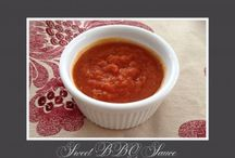 Recipes - healthy sauces/condiments / by Kim Arnold